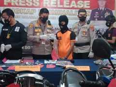 Dua sejoli pelaku pencurian sepeda motor ditangkap petugas